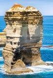Il calcare oscilla sopra grande oceano strada dell'oceano, Australia Fotografia Stock Libera da Diritti