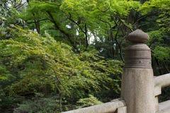Il calcestruzzo recinta Meiji Jingu Immagine Stock Libera da Diritti