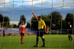 Il calcio Fotografia Stock Libera da Diritti