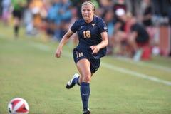 2015 il calcio delle donne del NCAA - WVU-Maryland Immagini Stock