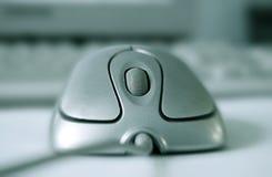 Il calcolatore del mouse fotografie stock libere da diritti