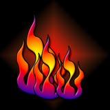 Il calore è sopra illustrazione vettoriale