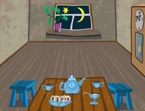 Il calore e la comodità della vostra casa royalty illustrazione gratis