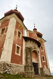 Il calvario di Banska Stiavnica fotografie stock libere da diritti