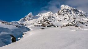 Il calzolaio nell'inverno, alpi di Arrochar, Scozia Immagini Stock Libere da Diritti