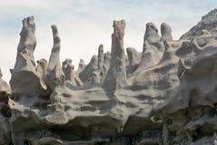 Il camino gradisce le formazioni rocciose in canyon di fantasia, Utah Fotografie Stock Libere da Diritti