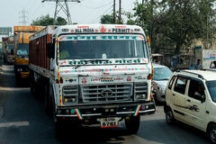Il camion in India Immagine Stock
