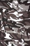 Il cammuffamento bianco pieno della tasca del primo piano ansima/shor Fotografia Stock Libera da Diritti
