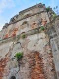 Il campanile d'affondamento fotografie stock libere da diritti