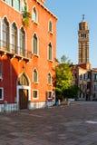 Il campanile della chiesa del san su fino a 1810, più successivamente una prigione, oggi è archivio Fotografia Stock Libera da Diritti