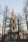 Il campanile della st Nicholas Naval Cathedral immagine stock libera da diritti