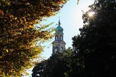 Il campanile di Spercenigo Immagine Stock