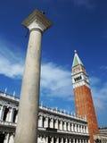 Il campanile di St Mark, Venezia Fotografie Stock Libere da Diritti