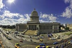Il Campidoglio a Avana, Cuba fotografia stock