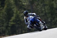 Il campionato del Canada Superbike delle parti (pratica) può Fotografia Stock Libera da Diritti