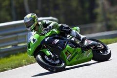 Il campionato del Canada Superbike delle parti (pratica) può Fotografie Stock