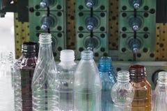Il campione della bottiglia di plastica Fotografia Stock Libera da Diritti