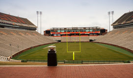 Stadio di football americano di Clemson University Immagine Stock