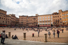 Il Campo Piazza Royalty Free Stock Photography