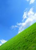 Il campo verde Fotografie Stock