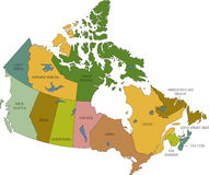 Il Canada 01 Immagine Stock Libera da Diritti