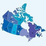 Il Canada Fotografia Stock Libera da Diritti