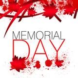 Il Canada Memorial Day Fotografia Stock Libera da Diritti