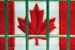 Il Canada in prigione Fotografie Stock