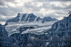 Il Canada Rocky Mountains Panorama immagine stock libera da diritti