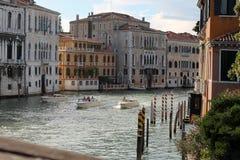 Il canal grande a Venezia Italia fotografie stock libere da diritti