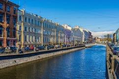 Il canale di Griboyedov Fotografia Stock Libera da Diritti