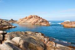 Il canale scenico oscilla l'Australia occidentale Immagini Stock Libere da Diritti