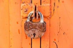 Il cancello è chiuso fotografie stock