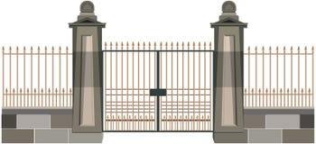 Il cancello Fotografia Stock Libera da Diritti