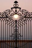 Il cancello a cielo immagini stock libere da diritti
