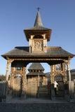 Il cancello di legno ha intagliato la I Fotografia Stock