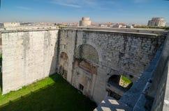 Il cancello dorato a Costantinopoli immagine stock