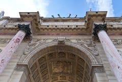 Il cancello a Parigi Immagini Stock
