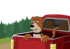 Il cane triste Illustrazione di arte illustrazione vettoriale