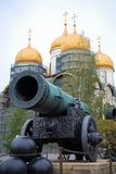 Il cannone di Tsar Immagini Stock