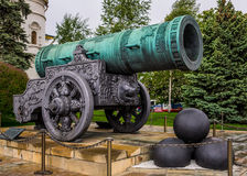 Il cannone di Tsar Fotografia Stock
