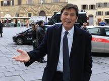 Il cantante Gianni Morandi, Italia Immagine Stock