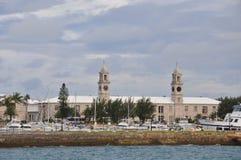 Il cantiere navale reale della marina in Bermude Fotografia Stock Libera da Diritti