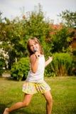 Il canto è la mia gioia Fotografia Stock