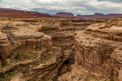 Il canyon della scanalatura Fotografia Stock Libera da Diritti