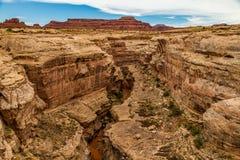 Il canyon della scanalatura Immagine Stock Libera da Diritti