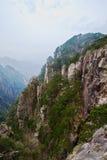 Il canyon della valle ad ovest del mare Immagini Stock