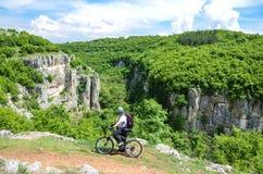 Il canyon di Emen Fotografie Stock