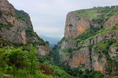 Il canyon di Hunot Immagini Stock Libere da Diritti