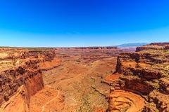 Il canyon di Shafer trascura Fotografie Stock